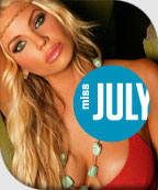Miss July - Gabrielle Tuite