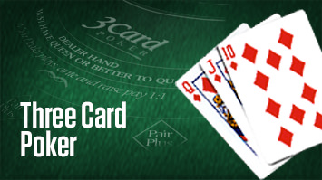 3 Card Poker - Single Hand